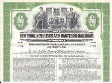 NEW YORK,NEW HAVEN AND HARTFORD RAILROAD COMPANY..1953 MORTGAGE BOND