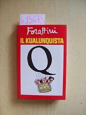 G. FORATTINI - IL KUALUNQUISTA - MONDADORI - 1988