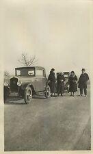PHOTO ANCIENNE - VINTAGE SNAPSHOT - VOITURE AUTOMOBILE PEUGEOT 201 MODE - CAR