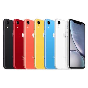 Apple iPhone XR - 64GB 128GB 256GB - GSM+CDMA Unlocked Smartphone Various Colors