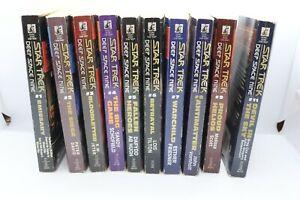 Lot of 10 Star Trek: Deep Space Nine books, #1-9 + 11 - good condition