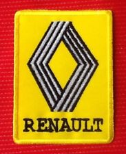 RENAULT CAR TRUCK RACING TEAM MOTOR SPORTS BADGE IRON SEW ON PATCH