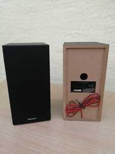 Pioneer SHM 10 Regal-Lautsprecher 1 Paar passiv schwarz Bookshell Speaker Pair
