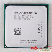 AMD Phenom II X2 B59 CPU 3.4/1M/533 HDXB59WFK2DGM Socket AM3 100% work free sp
