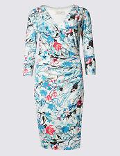 M&S PER UNA Women's Ivory Mix TWO Shift Dresses Size UK14/EUR42 BNWT