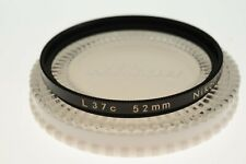 Nikon 52mm L37C (UV) filter. EXC+ cased condition. Top quality!
