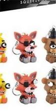 FNaF FIVE NIGHT'S at FREDDY'S Official FOXY Squeeze Eye Popping KEYCHAIN Gamer