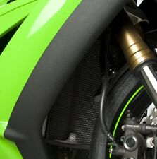 Kawasaki ZX10 R 2011 R&G Racing Radiator Guard RAD0068TI Titanium