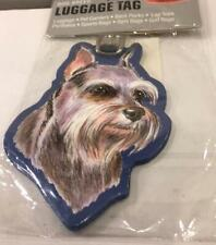 Schnauzer Luggage Tag-New In Package!