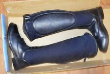 New TuffRider Women's 11 Alpine Quilted Field Riding Boots Black 3057
