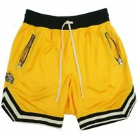 Men's Gym Fitness Bodybuilding Shorts Sport Running Short Pants Bottoms Trousers