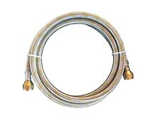 Propane, Natural Gas Line 5 ft Stainless Steel Braided Hose LP LPG Grill Parts