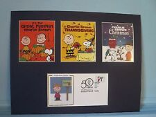 Peanuts & Snoopy -  Charlie Brown TV Specials & First Day Cover of its stamp