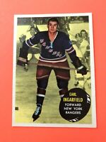 Earl Ingarfield 1961-62 Topps #49  Vintage Hockey Card