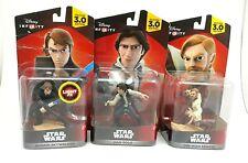 Star Wars Disney Infinity 3.0  Lot of 3 Star wars Action Figures Bundle Han Solo