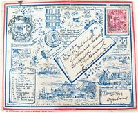 .RARE 1900 BOER WAR POSTAL COVER & CONTENTS. Cpt MITCHELL CAPE TOWN HIGHLANDERS