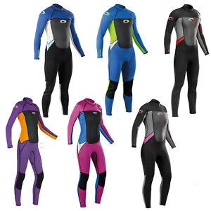 Osprey Origin 3mm Kids Junior Wetsuit Boys Girls Full Length Neoprene Wet Suit