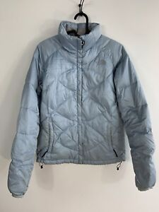 THE NORTH FACE Women's 550 Down Quilted Jacket size S/P Light Blue