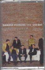 DANIELE SILVESTRI UNO-DUE MC K7 MUSICASSETTA SIGILLATA!!!