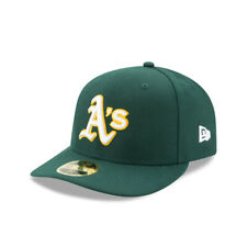 Oakland Athletics New Era Mlb On-Field Low Profile Road 59Fifty Fitted Hat-Green