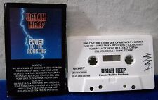 Uriah Heep Power To The Rockers 15 track 1987 CASSETTE TAPE
