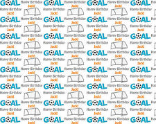Personalised Gift Wrapping Paper FOOTBALL Birthday Any Name a
