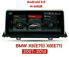 "BMW X5 E70 X6 E71 E72 Android 9.0 8-Core 4G 10.25"" Autoradio GPS Navigation WiFi"