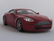 Aston Martin amv8/maquette de voiture/Collectionneurs/rouge/NEUFS/1:43