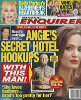 National Enquirer Magazine July 9 2012 Angelina Jolie Dolly Parton Who Hates Who