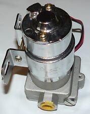 155 GPH Electric Fuel Pump 14PSI With Bracket NON EFI CHEVY SBC BBC  350 383 454