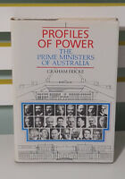 Profiles of Power; The Prime Ministers of Australia! HCDJ Book by Graham Fricke!