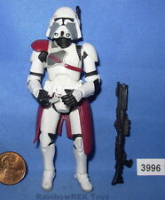 "Star Wars 2005 COMMANDER BACARA Quick Draw Attack 3.75"" figure"