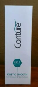 New Conture Kinetic Smooth 2-in-1 Hair Remover & Skin Polisher  NIB