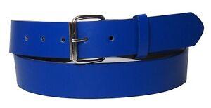 New Bonded Leather Belt Multi Color Golf Baseball Softball Removable Belt Buckle