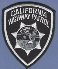 CALIFORNIA HIGHWAY PATROL CHP TACTICAL BLACK POLICE PATCH