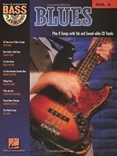 """Blues"" Bass Play-Along Volume 9 Music Book/Cd-Brand New On Sale Songbook-Rare!"