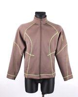 Salomon Women Khaki Active Jacket Jumper Size XL