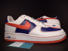 2003 Nike Air Force 1 Low LE REMIX DA KICKZ KICKS WHITE RED INFRARED BLUE NEW 13