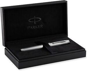 Parker Premier Monochrome ED11 Titanium Rollerball Pen BNIB
