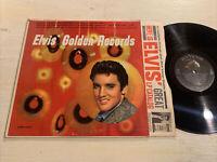 Elvis Presley Elvis' Golden Records LP RCA Mono 16s/22s LPM-1707 +Elvis Inner VG