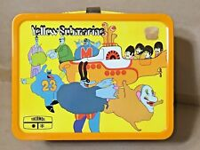 1968 BEATLES Yellow Submarine Lunch Box Mint C9.5,NEVER USED/ORIGINAL PRICE TAG