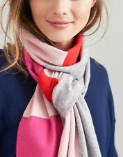 Joules Womens Flurrywell Knitted Scarf - LIGHT GREY MARL in One Size