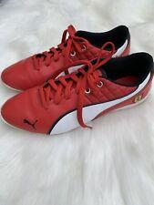 PUMA Mens Ferrari Red Sneakers Size 7.5