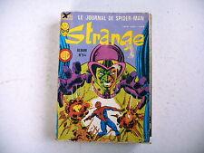 BD - STRANGE album n° 54 reliant n° 161 à 163 - 1983 + 1 poster