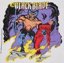 M * Nos vtg 80s 1989 Wolverine The Black Blade marvel comic t shirt * 37.101