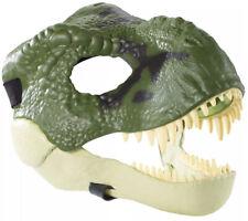Green Tyrannosaurus Rex Mask Jurassic park world New dinosaur T-Rex