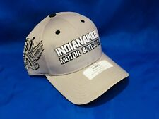 Indianapolis Indy 500 RAISED IMS LOGO WING & WHEEL Hat Salesman Sample GRAY