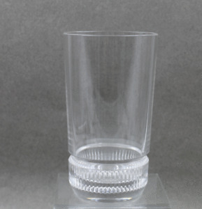 "Ralph Lauren Crystal Broughton Pattern Highball Tumbler 5 3/4"" Sold Individually"