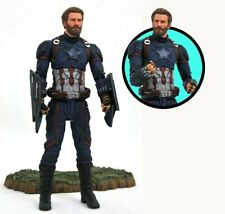 Capitan America Avengers Infinity War Marvel Select Action Figure 18 cm