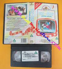 VHS film TOM AND JERRY CARTOON FESTIVAL 1986 uk animazione inglese (F140) no dvd